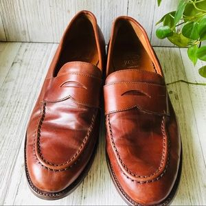 J Crew Ludlow Mens Leather Penny Loafers